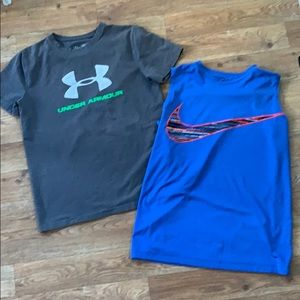 Under Armour and Nike
